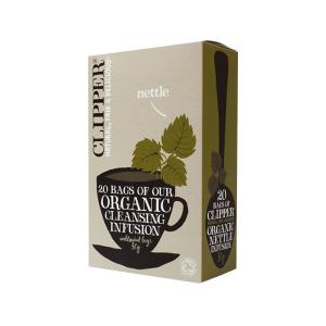 Nettle Infusion 20 bags 30g | Organic Vegan No Added Sugar | Clipper