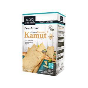 Άζυμα Κράκερς από Αλεύρι Καμούτ 150g | Υγιεινό Βιολογικό Σνακ Χωρίς Ζάχαρη Vegan | Sottolestelle