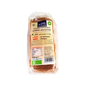 Ψωμί σε Φέτες από Αλεύρι Ντίνκελ και Φαγόπυρο  400g | Βιολογικό Χωρίς Ζάχαρη Vegan | Sottolestelle