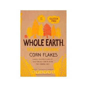 Corn Flakes 375g | Organic Gluten Free Vegan | Whole Earth