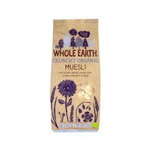 Τραγανό Μούσλι με Βρώμη Σταφίδες και Σπόρους 750g | Βιολογικό Χωρίς Ζάχαρη Vegan | Whole Earth