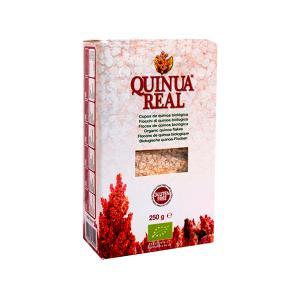 Νιφάδες Βασιλικής Κινόα 250g | Βιολογική Χωρίς Γλουτένη Υψηλής Πρωτεΐνης Vegan| Quinua Real