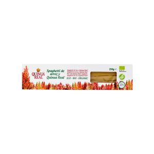 Σπαγγέτι από Βασιλική Κινόα και Ρύζι 250g | Βιολογικό Ζυμαρικό Χωρίς Γλουτένη Χωρίς Ζάχαρη Χωρίς Αλάτι Vegan | Quinua Real