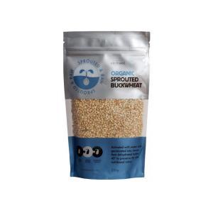 Ωμοί Φυτρωμένοι Σπόροι Φαγόπυρου 250g | Βιολογικοί Χωρίς Γλουτένη Vegan | Sun & Seed