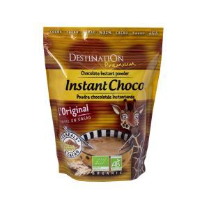 Chocolate Instant Powder with Oat 400g | Organic Vegan Vegetarian | Destination