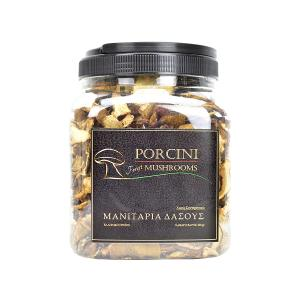 Dried Wild Porcini Mushrooms in Slices 200g | Handpicked from Greek Forests | Mushrooms Hellas