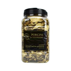 Dried Wild Porcini Mushrooms in Slices 400g | Handpicked from Greek Forests | Mushrooms Hellas