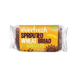 Ψωμί Φύτρου Σιταριού με Λιναρόσπορο και Ηλιόσπορο 400g | Βιολογικό Χωρίς Αλάτι Vegan | Everfresh