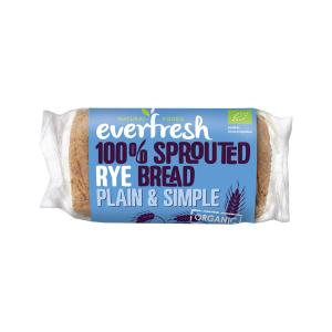 Sprouted Rye Bread 400g | Organic Vegan No Added Salt | Everfresh