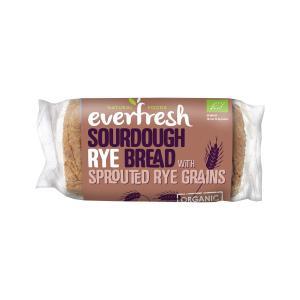 Ψωμί Σικάλεως με Προζύμι 400g | Βιολογικό Χωρίς Αλάτι Vegan | Everfresh
