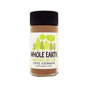 No Caf coffee alternative 100g| Organic Vegan Instant Drink Caffeine Free | Whole Earth