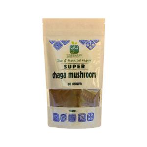 Chaga Mushroom Powder 100g | Vegan Macrobiotics | GreenBay