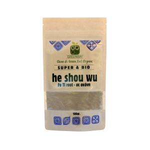 He Shou Wu σε Σκόνη 100g | Βιολογικό Vegan Vegetarian | GreenBay