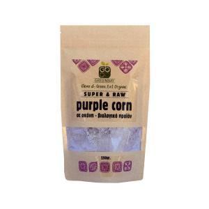 Μωβ Καλαμπόκι Purple Corn σε Σκόνη BIO 250g - GreenBay
