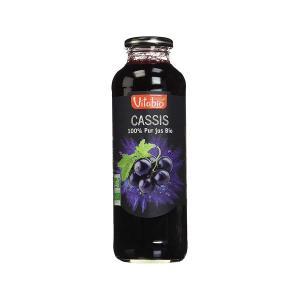 Βιολογικός  Χυμός Φραγκοστάφυλλο Cassis 500ml |  Χωρίς Ζάχαρη Vegan Χωρίς Αλάτι |  Vitabio