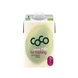 Γαλα Καρύδας για Μαγειρικη Light 500ml | Βιολογικό Vegan Χωρίς Ζάχαρη Χωρίς Αλάτι | Dr.Martins