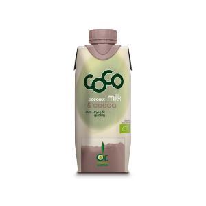 Ρόφημα Γάλα Καρύδας με Κακάο Mini 330ml | Βιολογικό Ρόφημα Χωρίς Ζάχαρη | Dr.Martins