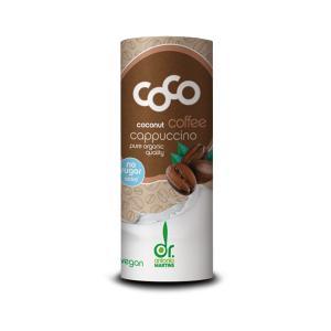 Ρόφημα Καρύδας με Καφέ Cappuccino 235ml | Βιολογικό Ρόφημα Χωρίς Ζάχαρη | Dr.Martins