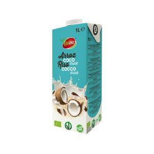 Βιολογικό Ρόφημα Ρυζιού με Καρύδα  1lt | Χωρίς Γλουτένη Χωρίς Ζάχαρη | Vivibio