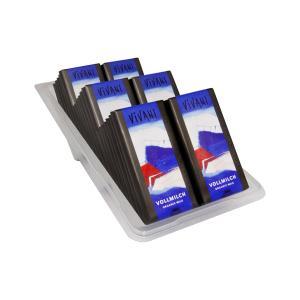 Σοκολάτα Γάλακτος σε Χάρτινη Συσκευασία (40x12,5g) 500g   Βιολογική Σοκολάτα   Vivani