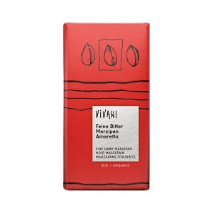 Dark Chocolate with Marzipan and Amaretto 100g | Organic Chocolate | Vivani
