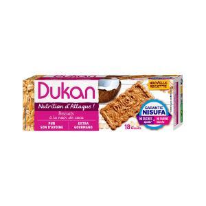 Dukan Μπισκότα Βρώμης με Γεύση Καρύδα 225g | Υγιεινό Σνακ Χωρίς Ζάχαρη Πλούσιο σε Φυτικές Ίνες | Dukan