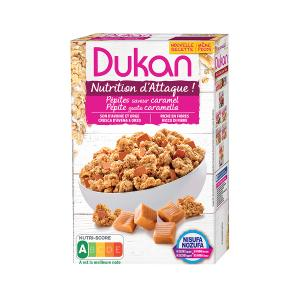 Dukan Oat Bran with Caramel Flavour 350g | Healthy Cereals No Added Sugar | Dukan