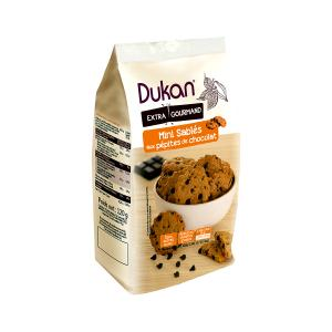 Dukan Mini Oat Shortbreads with Chocolate Chips 120g | No Added Sugar Low Calories | Dukan