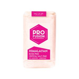 Ροζ Αλάτι Ιμαλαΐων Ψιλό 500g | Ακατέργαστο Βιολογικό Αλάτι | Profusion