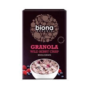 Granola με Άγρια Μούρα 375g | Βιολογικά Δημητριακά | Biona