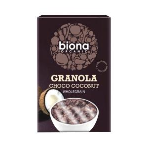 Organic Granola with Chocolate and Coconut 375g | Biona