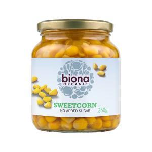Organic Sweetcorn 350g | No Added Sugar Vegan Vegetarian | Biona