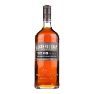Auchentoshan Three Wood 700ml | Triple Distilled Lowland Single Malt Scotch Whisky | Auchentoshan