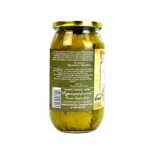 Αμπελόφυλλα Σουλτανίνας σε Άλμη | Στραγγισμένο Βάρος 250g | Νέας Σοδειάς από την Κρήτη | Αγροποιήματα Δερμιτζάκης