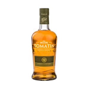 Tomatin 12  Year Old 700ml | Highland Single Malt Scotch Whisky | Tomatin
