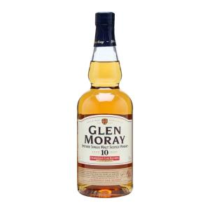 Glen Moray 10 Year Old Chardonnay Cask 700ml | Speyside Single Malt Scotch Whisky | Glen Moray