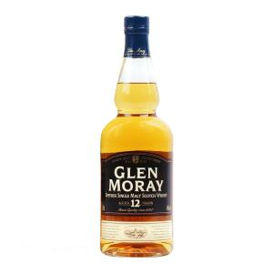 Glen Moray 12 Year Old 700ml | Speyside Single Malt Scotch Whisky | Glen Moray