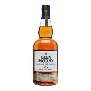Glen Moray 25 Year Old Portwood Finish 700ml | Speyside Single Malt Scotch Whisky | Glen Moray