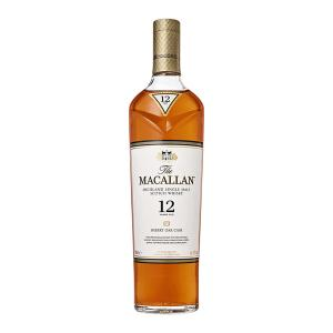 Macallan 12 Year Old Sherry Oak Cask 700ml | Highland Single Malt Scotch Whisky | Macallan