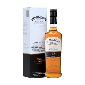 Bowmore 12 Year Old 700ml | Islay Single Malt Scotch Whisky | Bowmore