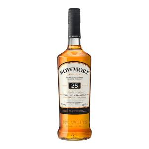 Bowmore 25 Year Old 700ml | Islay Single Malt Scotch Whisky | Bowmore