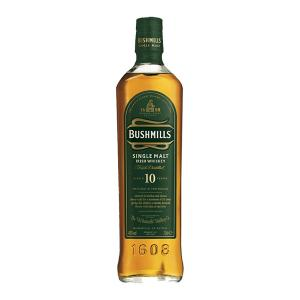 Bushmills 10 Year Old 700ml | Single Malt Irish Whiskey | Bushmills