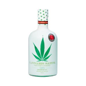 Cannabis Sativa Gin 700ml | Fibre Hemp Flavoured Gin | Dutch Windmill Spirits