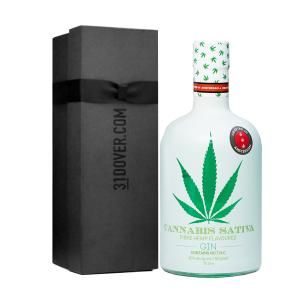 Cannabis Sativa Gin with Gift Box 700ml   Fibre Hemp Flavoured Gin   Dutch Windmill Spirits