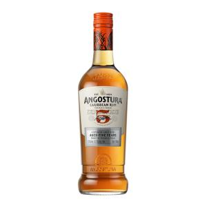 Angostura 5 Year Old Gold Rum 700ml | Superior Caribbean Rum | Angostura