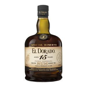 El Dorado Rum 15 Years Old 700ml | Demerara Special Reserve Rum | El Dorado