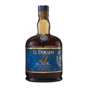 El Dorado Rum 21 Years Old 700ml | Demerara Special Reserve Rum | El Dorado