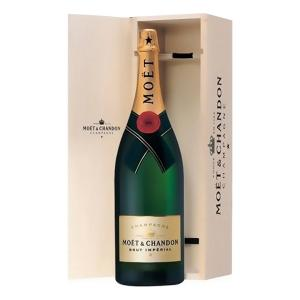 Moet & Chandon Brut Imperial Champagne in Wooden Box 3L | Moet & Chandon