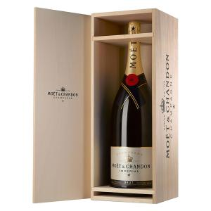 Moet & Chandon Brut Imperial Champagne in Wooden Box 6L | Moet & Chandon