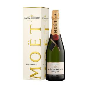 Moet & Chandon Brut Imperial Champagne with Gift Box 750ml | Moet & Chandon